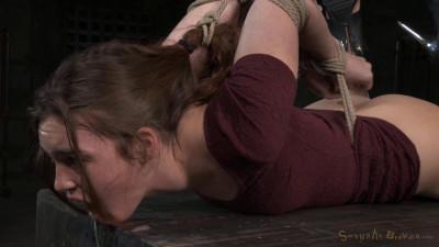 SexuallyBroken - Feb 23, 2015 - Sexy girl next door Jodi Taylor in a brutal hogtie