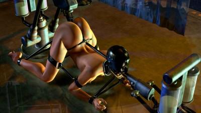 3D Porn Babes BDSM Mix 3
