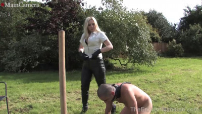 Real-Time Footage 24/7 Slavery Day Five Mistress Sidonias, Kinky Dirty (2014)