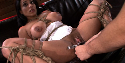 Tori & Aria Tied Up And Punished , Hard BDSM