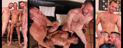 CockSureMen - Dominic Sol, Morgan Black & Steve Vex