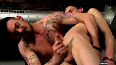 Aaron Spanked And Fucked