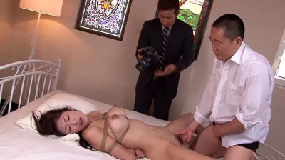 Tied Domineering Woman Boss