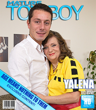 Yalena — Fresh-mature lady doing her toyboy HD 720p