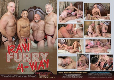 Natural Born Breeders – Raw Furry 4-Way HD (2016)