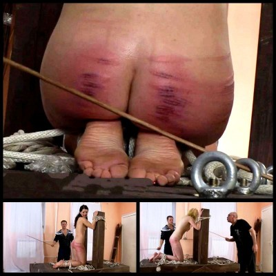 Punishment Of Street Girls (FULL Version) Russian-Discipline