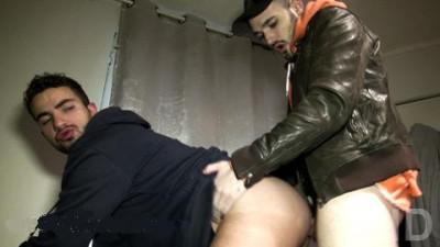 Darko gives a taste of his huge caliber to Ilan Manson