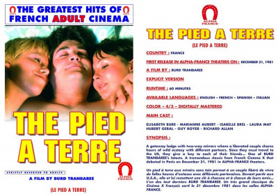 The Pied A Terre (Gerard Damiano, Alpha France)