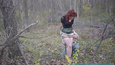 Rin Transported To The Woods And Tree Tied 1 & 2part – BDSM, Humiliation, Torture HD 720p