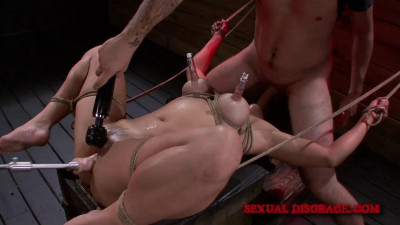 SD –  January 23, 2014 – Mia Li's Rough Deep Throat Disgrace