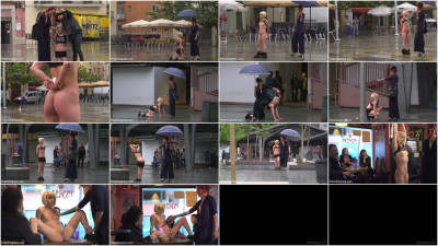 Eager Bitch Spanked And Flogged In The Rain! - Part 1