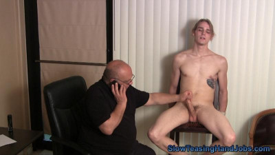 Eddie's Distracted Edging Audition , hot gay porno.