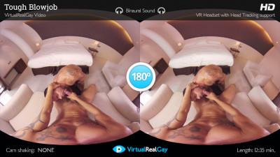 Virtual Real Gay - Tough Blowjob
