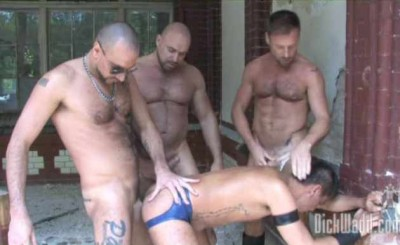 Mature Berlin Pigs In Outdoor Group Fucking