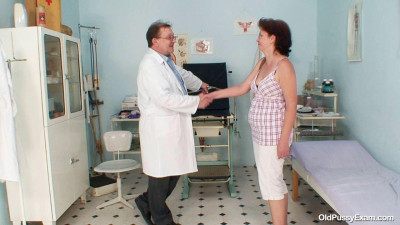 Ivana - 52 years woman gyno exam