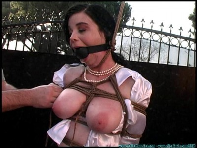 FS - Backyard Bondage Fun with Sybil - Part 1