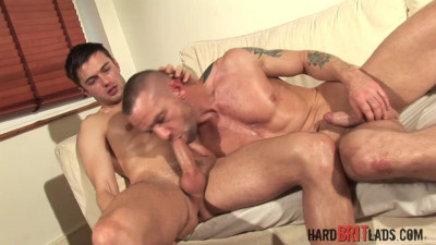 Hard Brit Lads — Darren R & Justin H