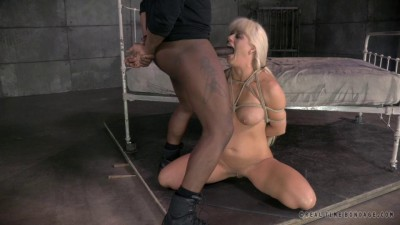 Big breasted MILF Holly Heart strictly restrained and Anally fucked by BBC