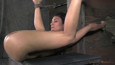 Smoking Beretta James Bound Down And Worked Over By 2 Dicks (2014)