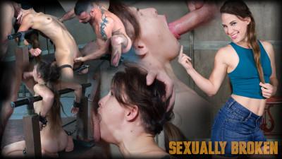 SexuallyBroken Devilynne — Brutal deep throating! 720p 16.11.09