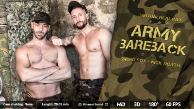 Virtual Real Gay — Army Bareback
