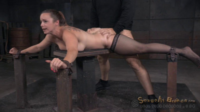 Bella Rossi's Show Continues With Breathplay Rough Fucking And Brutal Deepthroat (2015)