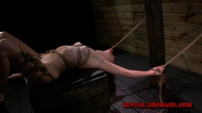 Sexual Disgrace – Marley Blaze Awaits Disgrace Tied to a Beam