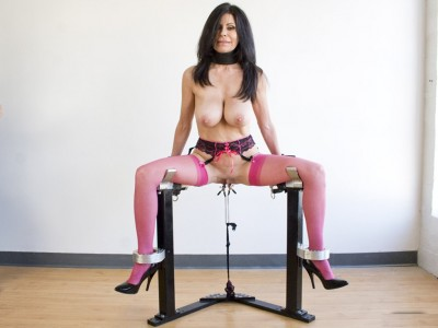 Ashley Renee And The RigidCuff Bondage Chair (2013)
