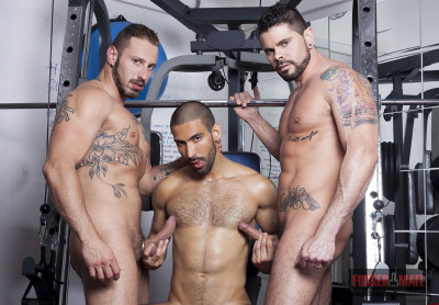 Fuckermate - Antonio, Mario and Alejandro threesome 720p