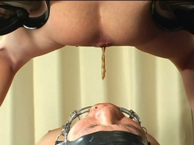 Asian Domina Used Scat Slave