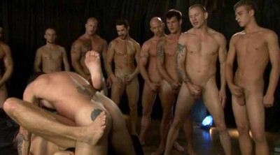 Frat Boys In Gangbang