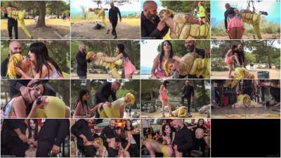 Beautiful Spanish Slut Gets Disgraced Like A Pig – Part 1