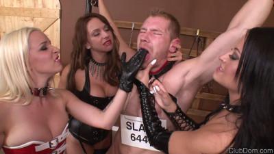 3 mistresses milk slave