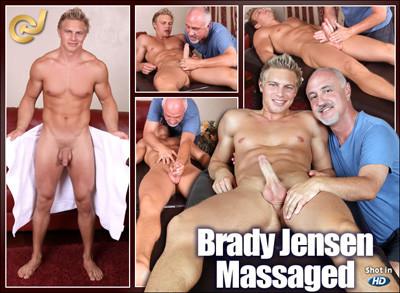 Brady Jensen Massaged