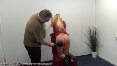 Esther's first spanking