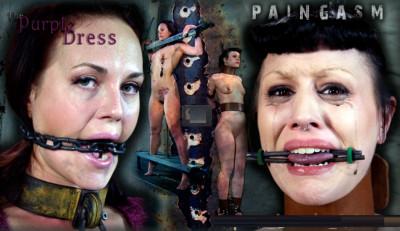 The Purple Dress + Paingasm Part 2 - Josi Valentine and Katharine Cane