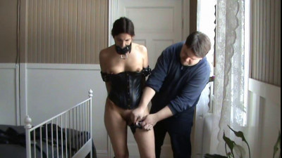 Domination of a Ponygirl (Bound ponygirl) , HD 720p