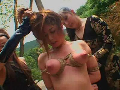 Bondage Lezdom Shibari Tit