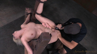 Cherry Torn Restrained In Fuck Me Position