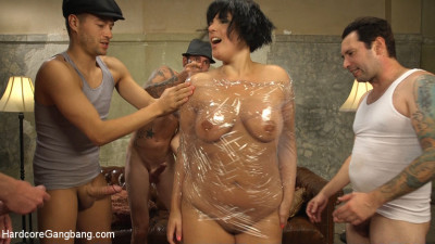 Agent Airtight – Slutty Fed Takes Five Hard Cocks In All Her Holes