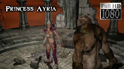 Princess Ayria and the Troll XXX 3D Full HD 1080