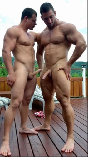 The big boys on the verge of debauchery!