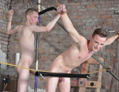 Poor Cameron Gets Pounded - Ashton Bradley and Cameron James