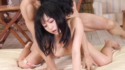 Nozomi Hatsuki — Nozomi Hatsuki is enjoying the creemepie of her lover
