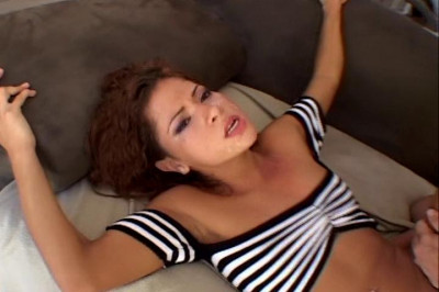 Chiquita Lopez loves it in all three of her holes