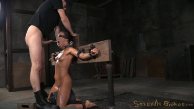 Natural Born Sexbot Kalina Ryu Throatboarded Drooling Deepthroat Sybian Orgasms (2015)