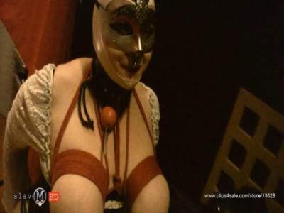 SlaveM  / clip4sale - Black Widow torments his slave