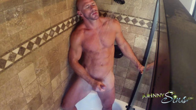 Johnny Sins Shower Solo 21