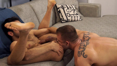 Austin Wolf plays dirty director to hot gay student, Shawn Abir