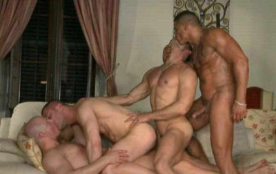 Amazing Group Sex With Hot Muscle Men